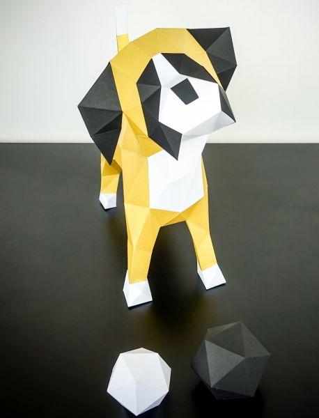 Papiertier Boxer