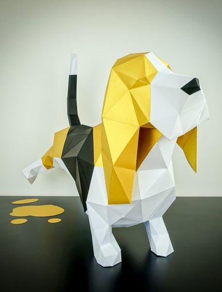 Bassett Papierhund